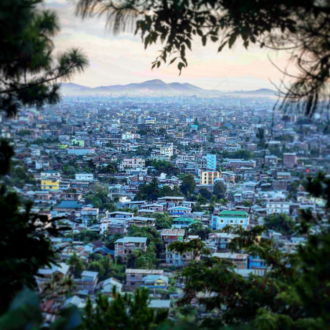 View of Imphal City. Photo by: Deepak shijagurumayum