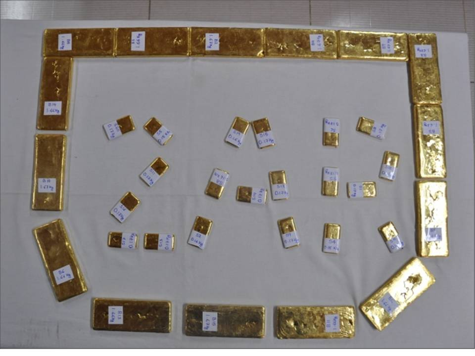 Huge cache of illegal gold recovered by 2 Assam Rifles under the aegis of HQ IGAR(S) (1)