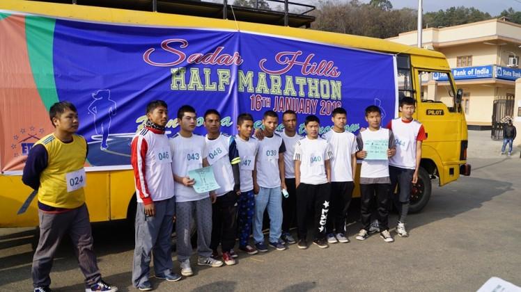 Sadar Hills Half Marathon - Boys