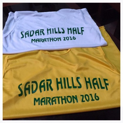 Official T-Shirts and Medals