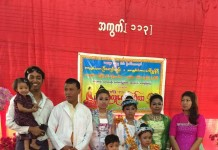 Mandalay Manipuri Bamon Family