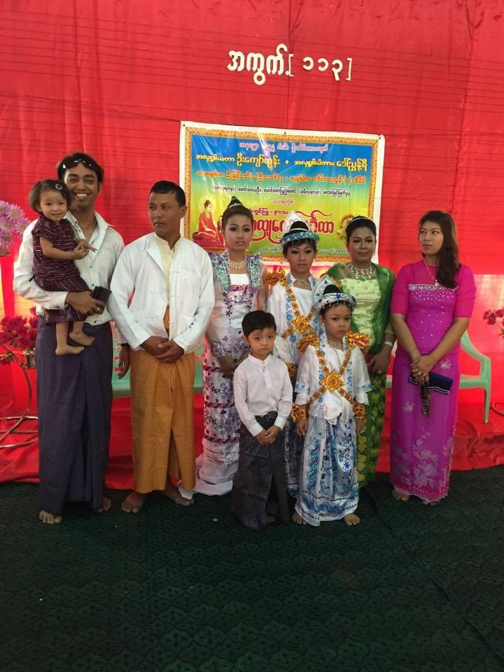 Mandalay Manipuri Bamon Family