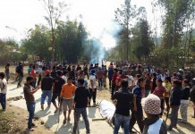 Late L.Thongkhogin Haokip beaten to death by Satu Villagers and NSCN IM cadres at Molnom Village Chandel Manipur