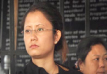 Brinda Thounaojam - MPS 9th Battlion - daughter-in-law of Sanayaima (UNLF leader RK Meghen)