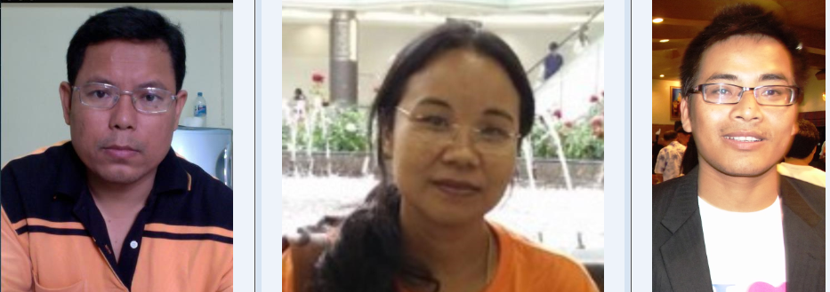 Thailand Writers - Chingakham Dina; Khwairakpam Sunita; Arambam Karamjit;