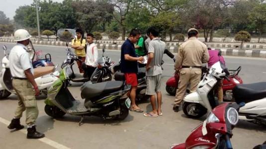 traffic violation in yaoshang 2016