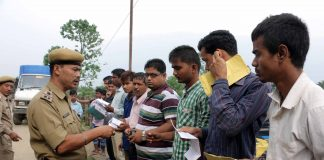 Manipur Jiribam Police Foreigner Check post