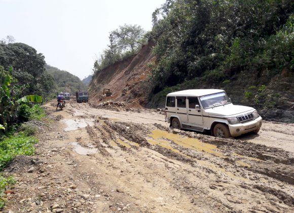 Condition of National Highway 37 : Jiribam Imphal Road Condiiton