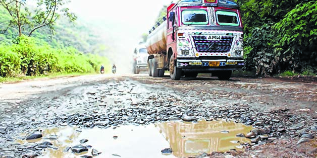 E-Front-__-CSOs-Deplorable-condition-of-National-Highway-2-near-Sapormeina