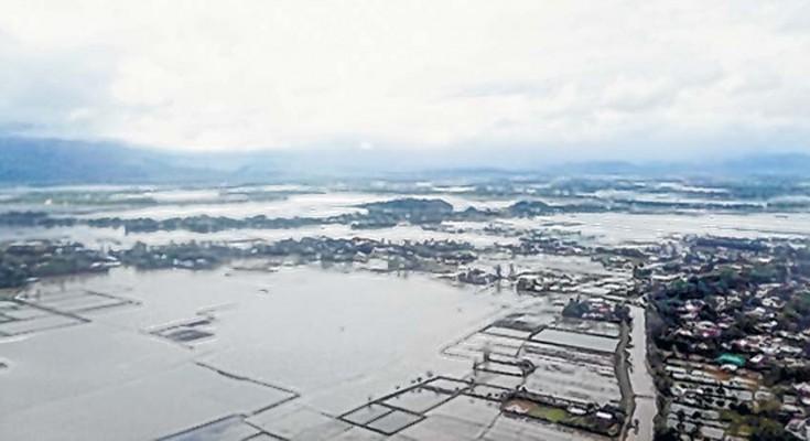 Imphal valley flood manipur