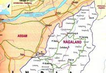 Nagaland Manipur map