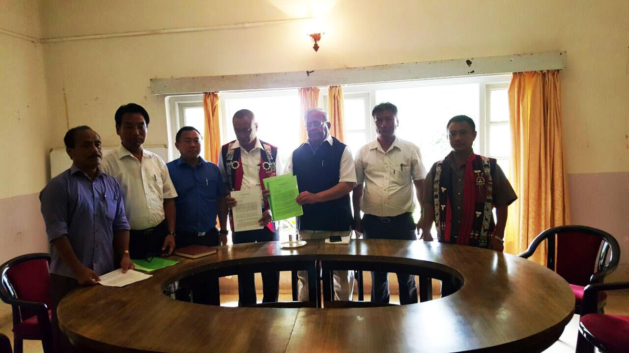 Joint memorandum to PM - Hoho Memo giving to Guv Nagaland