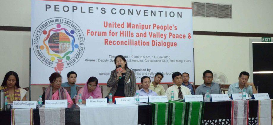 Manipur Meeting