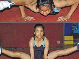 Ariha Pangambam Manipur Sports Gymnastic
