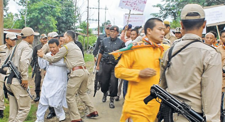 E-Front-__-BJP-MLAs-lead-protest-against-fresh-DPC-for-police-constables-735x400