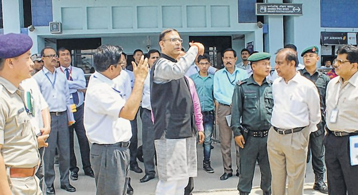E-Front-__-Union-Minister-inspecting-Tulihal-Airport-23-735x400