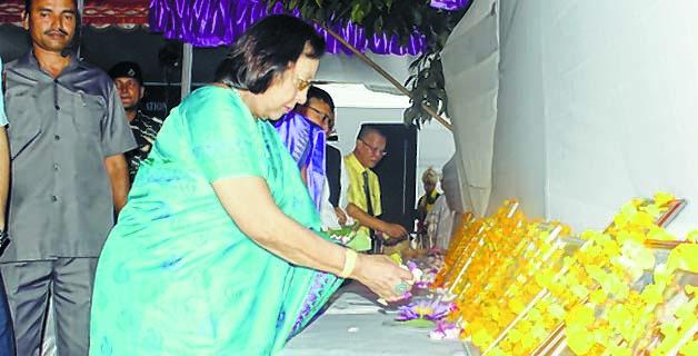 Governor Dr Najma Heptulla