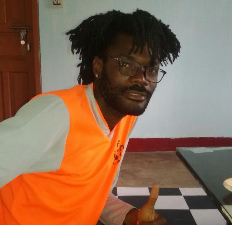 Henry Oja Kelechi, a Nigerian lodged in the jail was arrested in March for travelling with an expired visa. (HTphoto)