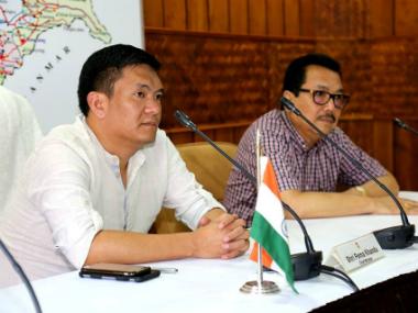 Arunachal CM Pema Khandu. Facebook