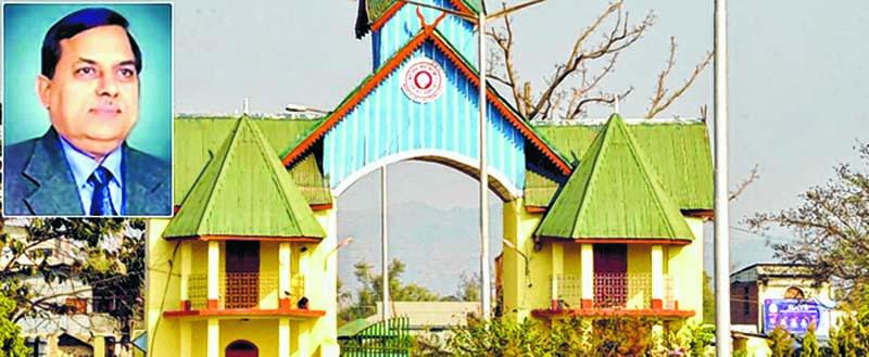 AP Pandey, New VC of Manipur University