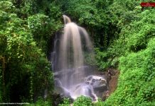 Waterfall near Phuba village
