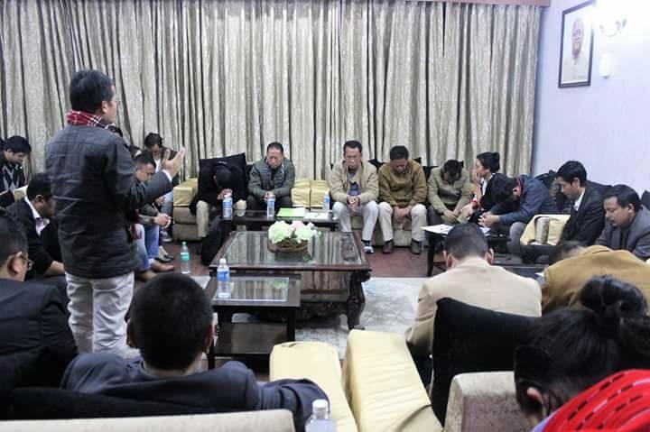 UNC and Naga bodies in Delhi