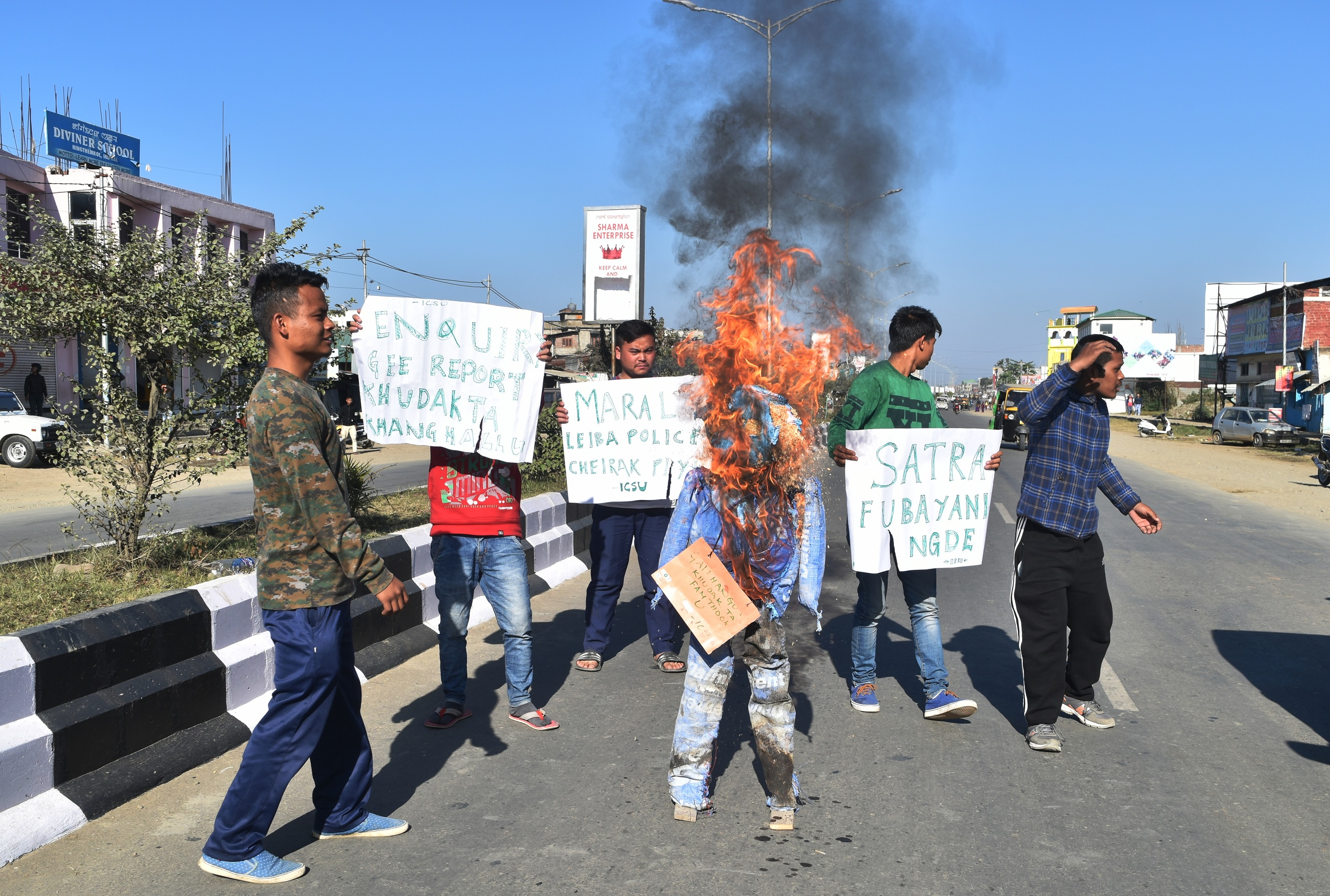 Desam protest
