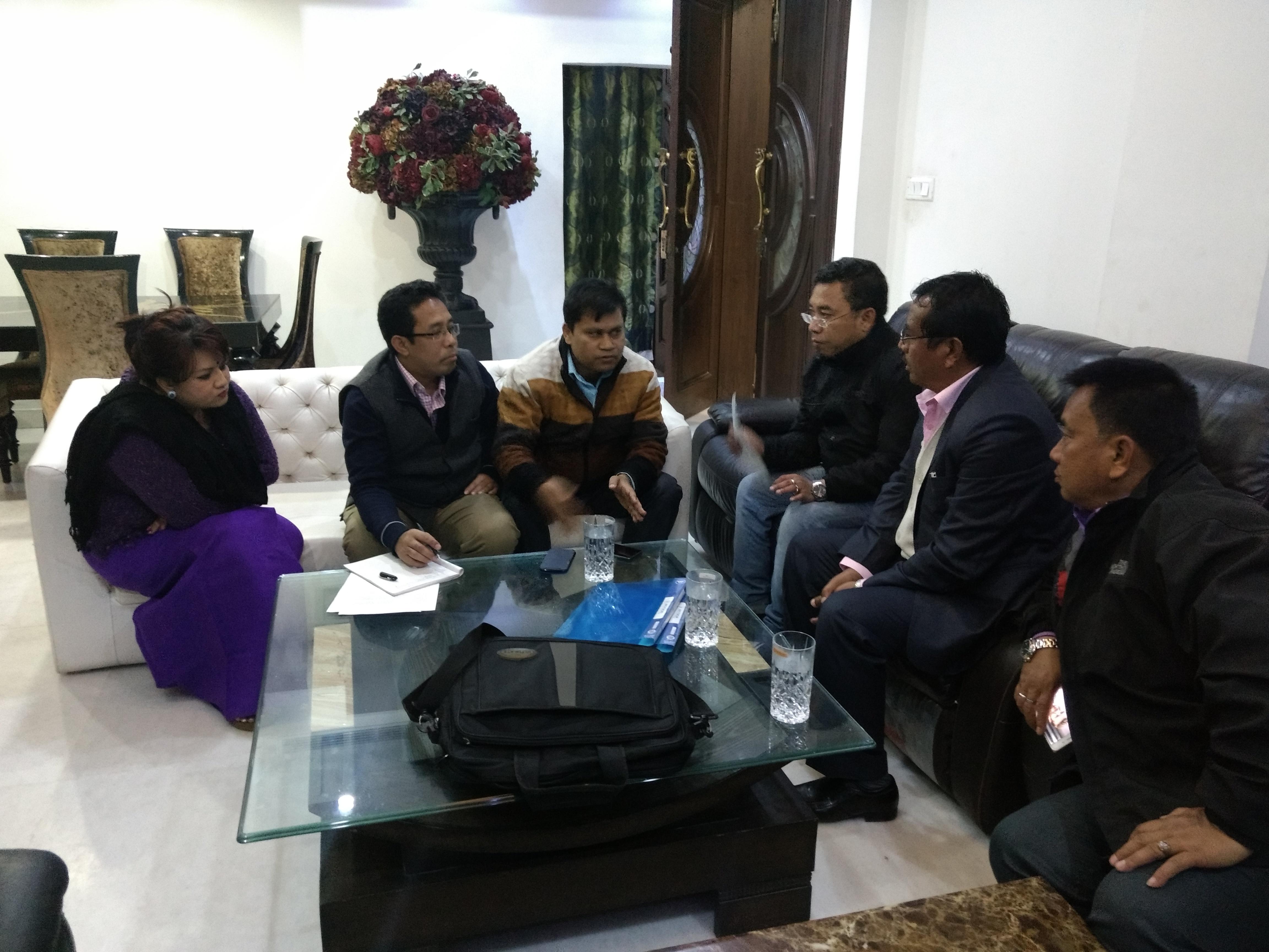 AMJU and DMS meet in Delhi