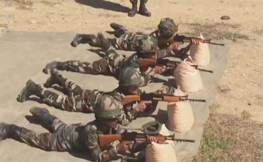 Assam rifles women were recently deployed during violence in Kohima.