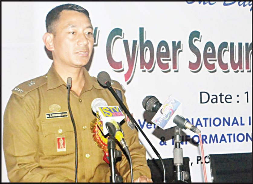 speaking on cyber crime