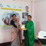 Chanu Creations, CEO Smt. Chirom Indira distributed RPL Kits to the trainees