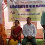 One of social worker deliver his speech on inauguration function of RPL on 27-03-2017, Tripura