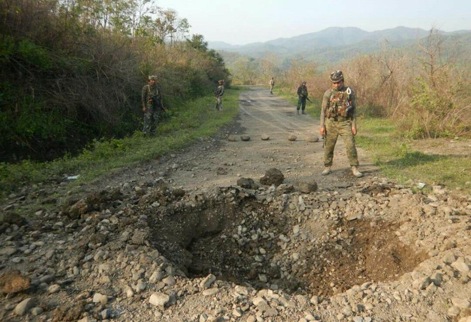 2 brtf labourers killed in attack ieds explode kanglaonline