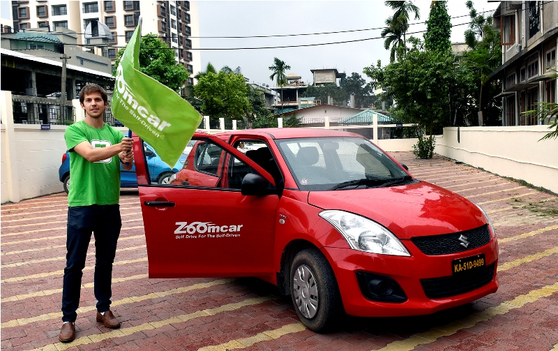 Zoomcar Services Launched In Guwahati KanglaOnline - Audi zoom car