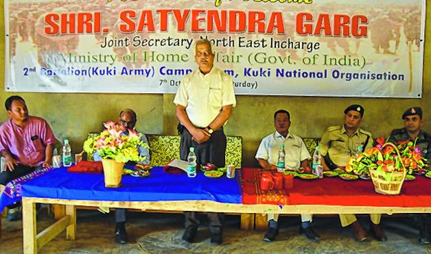 Garg visits SoO camps at Kpi, CCpur