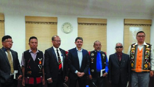 Centre's interlocutor for Naga talks to hold meeting with rebel groups Monday