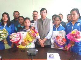 Bishnupur district honours women on INternational women's day