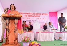 Dr Najma Heptulla at Ima Keithel financial awareness