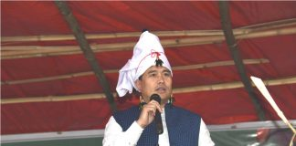 Thongam Biswajit at Maring Paaryao-Thillai
