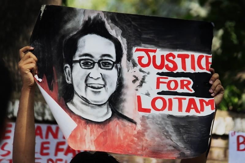 Justice for Richard - Protest at Delhi