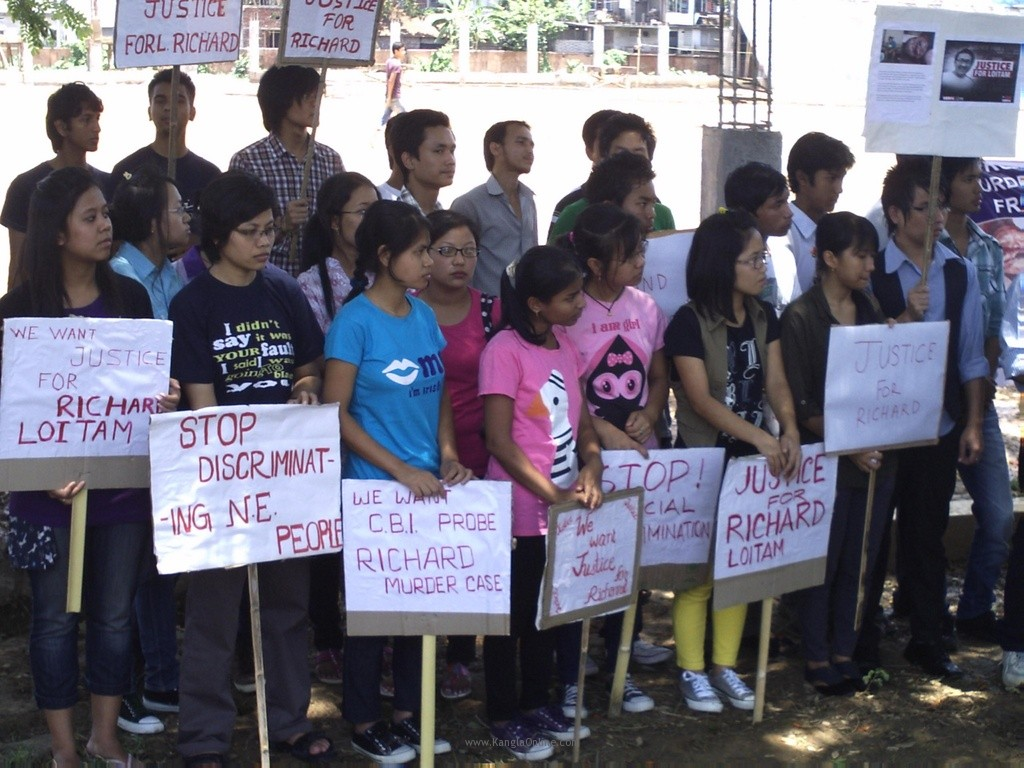 Justice for Richard Loitam, Protest Rally Held at Tripura
