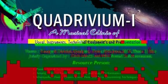 QUADRIVIUM 1.0, TNK Conference Hall, Senapati, Manipur