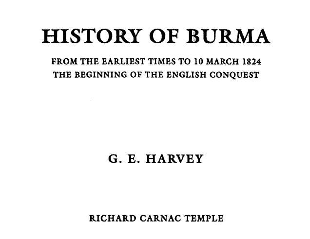 A BRIEF HISTORY OF BURMA