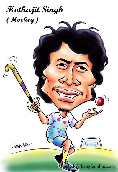 Olympian: Khadangbam Kothajit Singh – Hockey : By Manas Maisnam