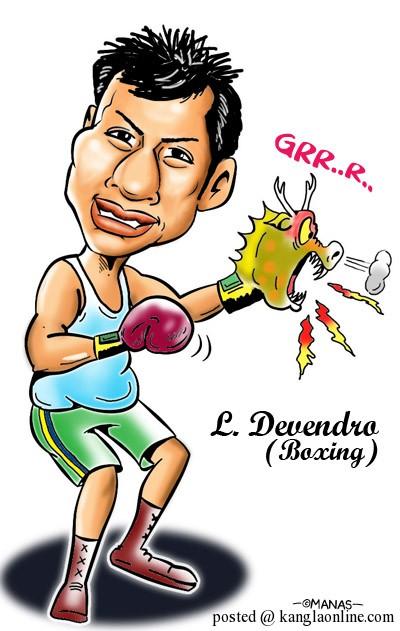 Laishram Devendro Singh - Boxing- London Olympics