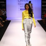 A model on the ramp showcase designer Sailex Ngairangbams creations at LFW (22)