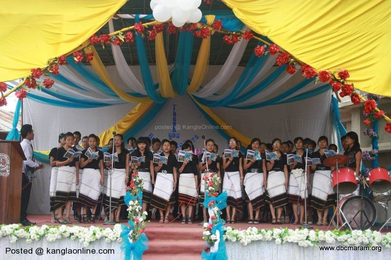 Solemn tribute and honour to the teachers on the occasion of the Teachers' Day was  held on 5th September 2012 at DBCMaram (Don Bosco College Maram).