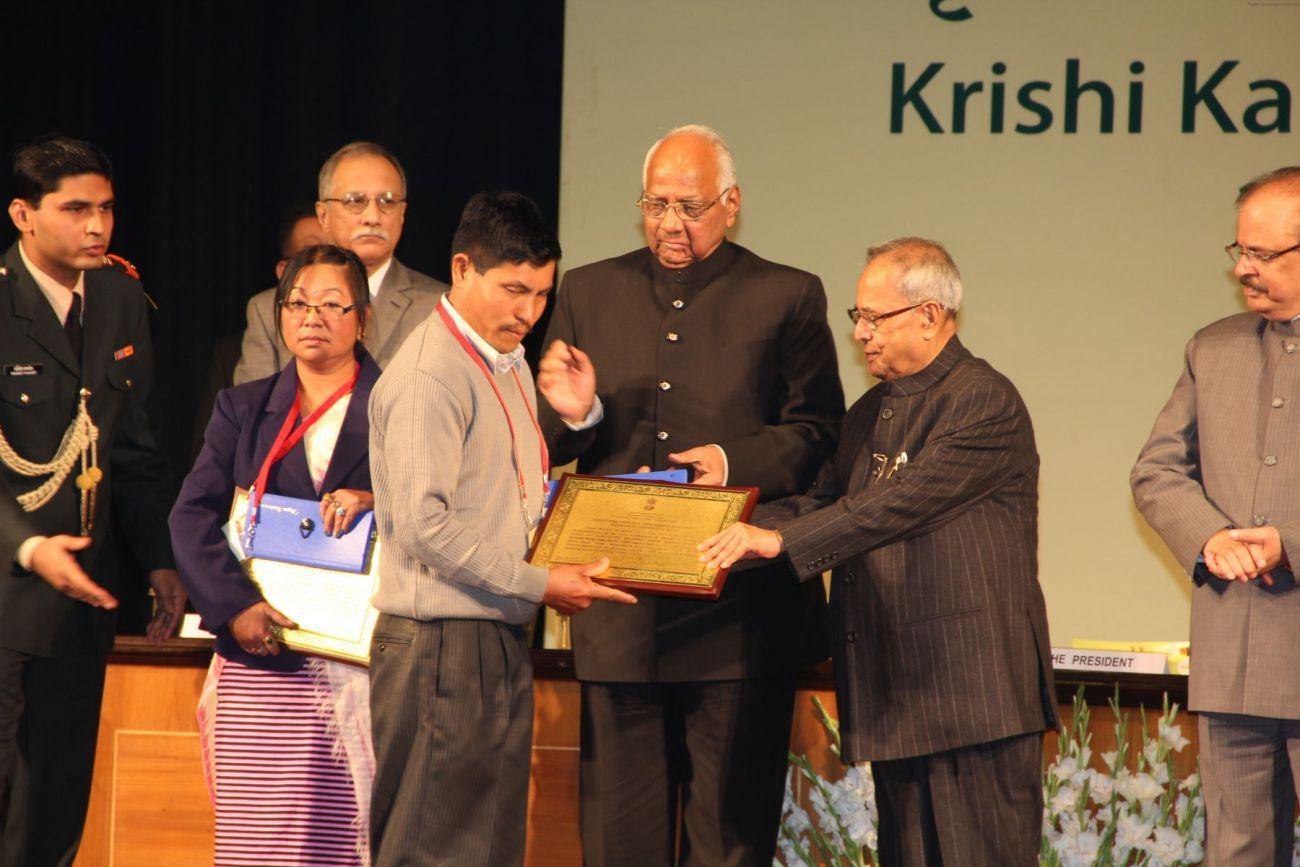 KRISHI KARMAN AWARDS 2011-2012