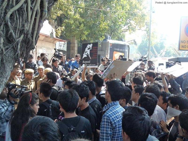 Solidarity Gathering for Manipurs' Iron Lady - Irom Chanu Sharmila by MSAD and SDRAG (3)