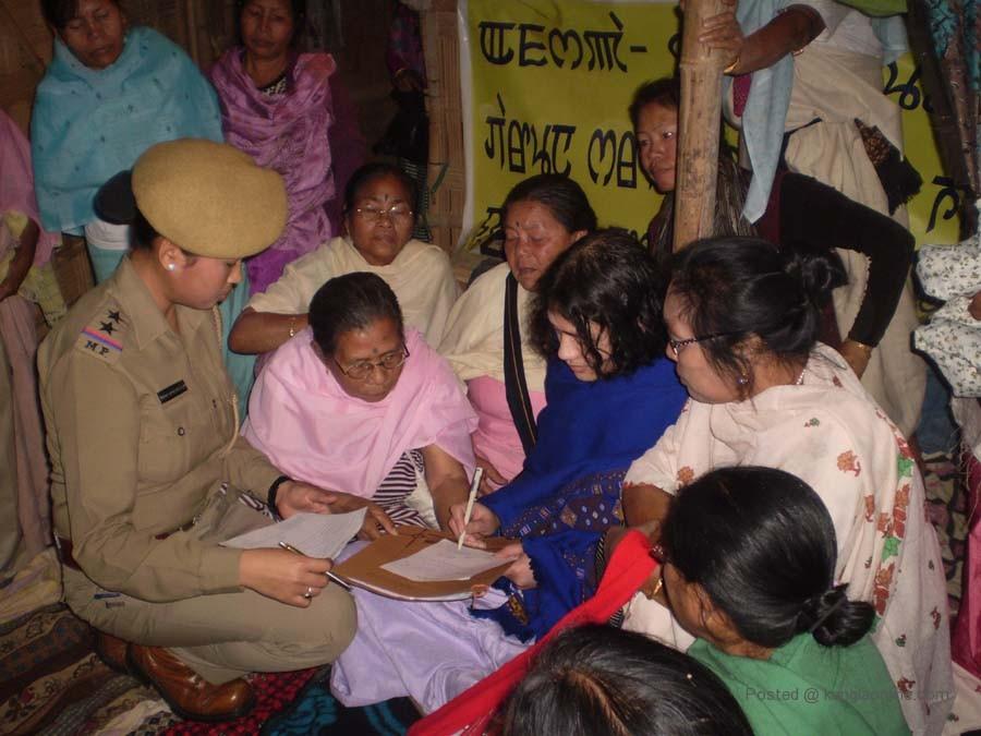 Irom Chanu Sharmila was re-arrested on Wednesday